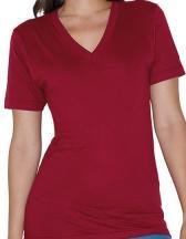 Unisex Fine Jersey V-Neck T-Shirt